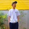 JERSEY EIGHT ロゴTシャツ(白)
